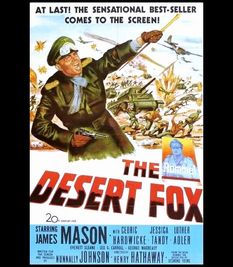 THE DESERT FOX (1951)_poster