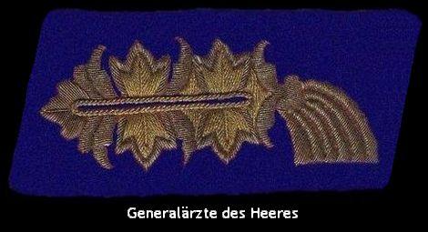 Generalärzte des Heeres