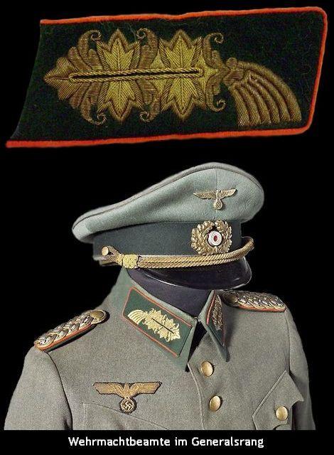 Wehrmachtbeamte im Generalsrang
