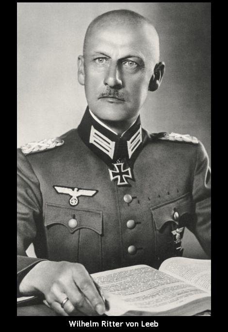 Wilhelm Ritter von Leeb
