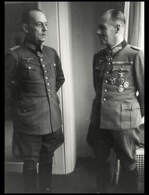 Gerd von Rundstedt_Erwin Rommel_19.Dezember.1943