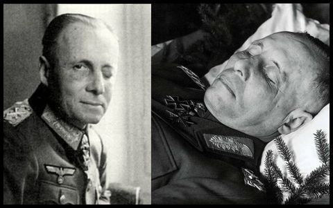 Rommel_nach Verletzungen und nach dem Tod