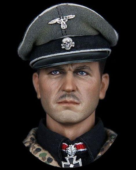 DAM_German Waffen-SS Panzer Commander