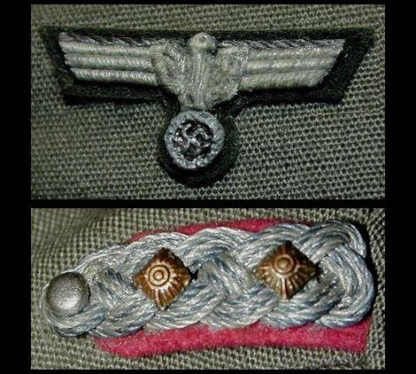 Stauffenberg_Brustadler & Schulterstucke_Generalstab