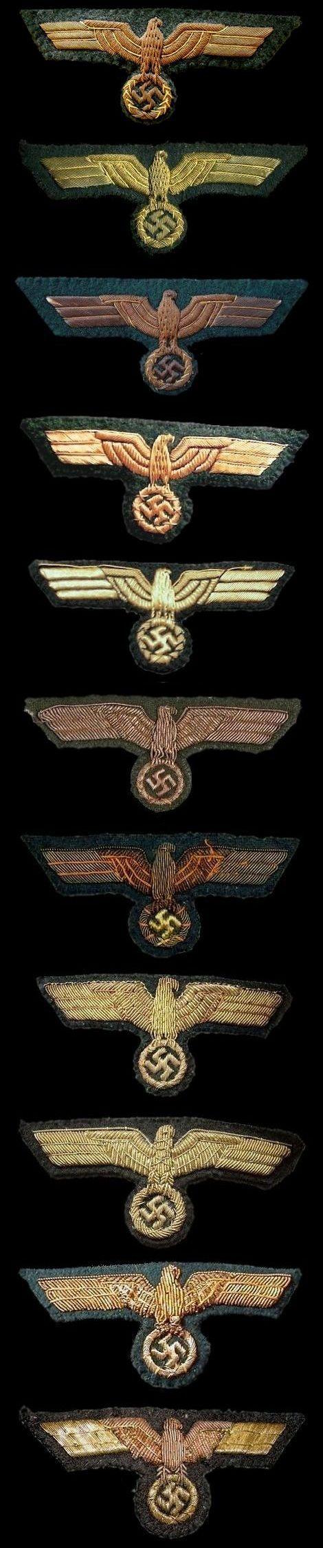 Brustadler für Generale