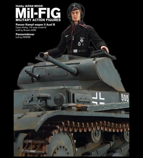 Mil-FIG_Panzermänner - FRANCE, 1940