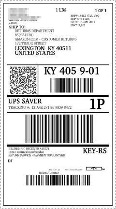 UPS_label