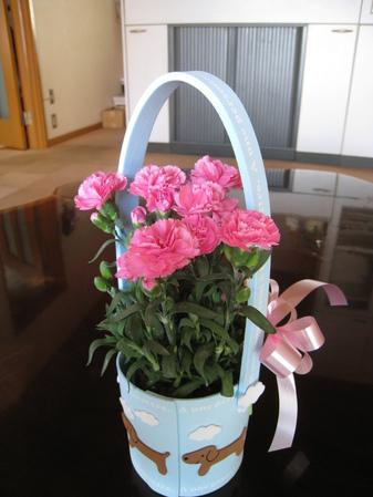 母の日の贈り物。