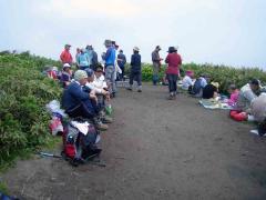 オロフレ山山頂
