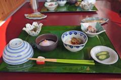 猿倉温泉朝食