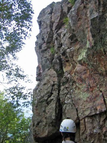 赤岩・西壁