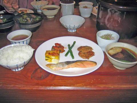 長蔵小屋夕食