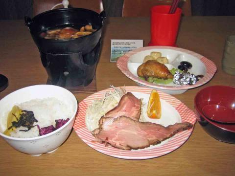 至仏山荘・夕食