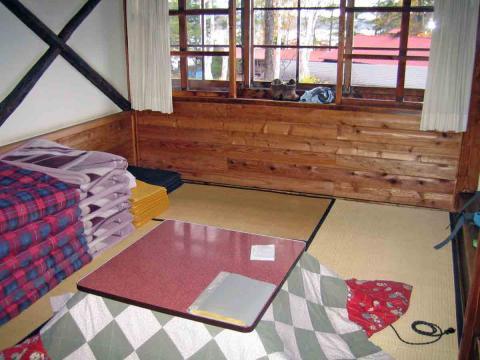 長蔵小屋和室