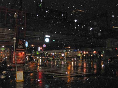 札幌駅近く