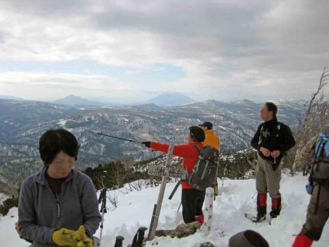 札幌岳から羊蹄山