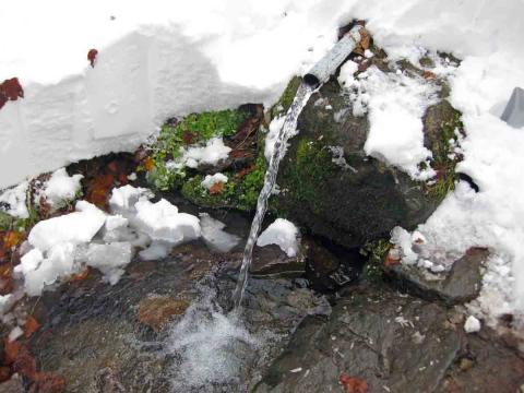 冷水小屋湧き水