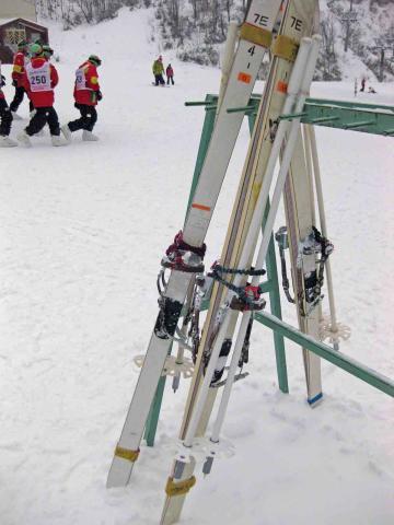 自衛隊のスキー