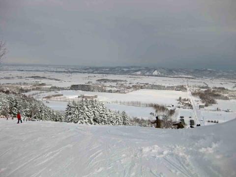 たぬきスキー4