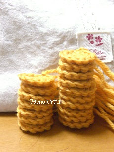 かぎ編みバッグ2