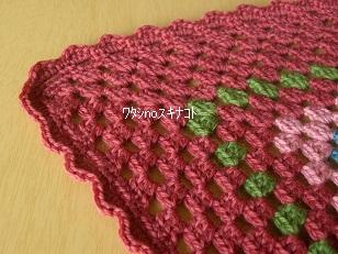 かぎ編みブランケット2