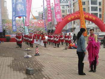 中国の鼓笛隊