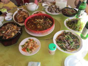 丹東のレストラン