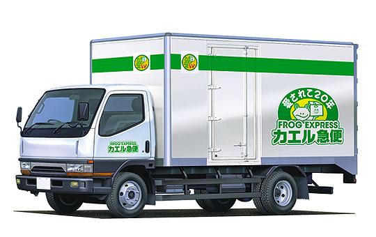 カエル急便トラック