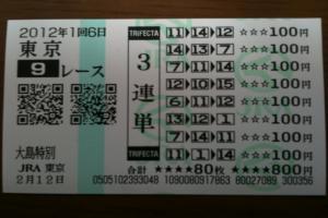 キヲヌイタ チキチキ3連単