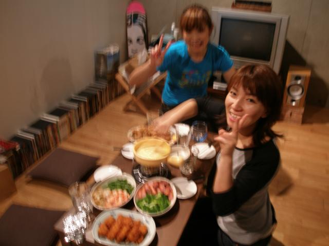 2008 06 チーズフォンデュ@Tigmi - 10