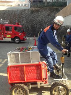 百合ヶ丘消防署⑩