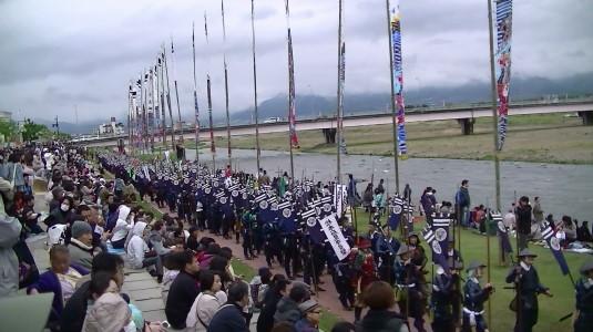 川中島合戦絵巻 兵