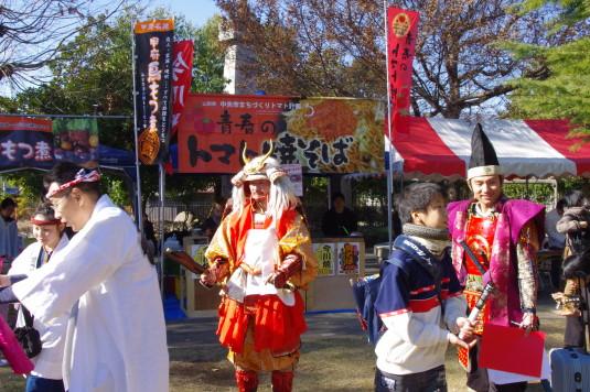 元祖武田赤備え祭り 信玄公
