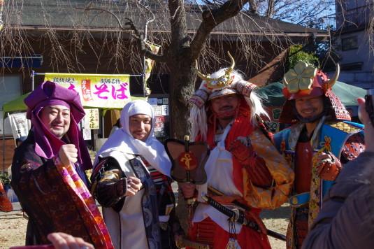 元祖武田赤備え祭り 信玄と謙信