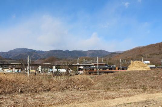 六郷 ぶたポン 甲斐岩間駅