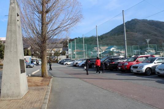 初詣 武田神社 駐車場
