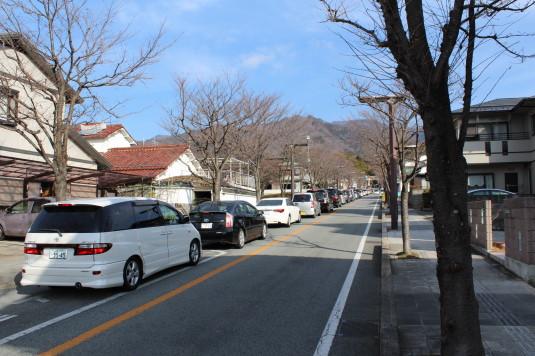 初詣 武田神社 渋滞