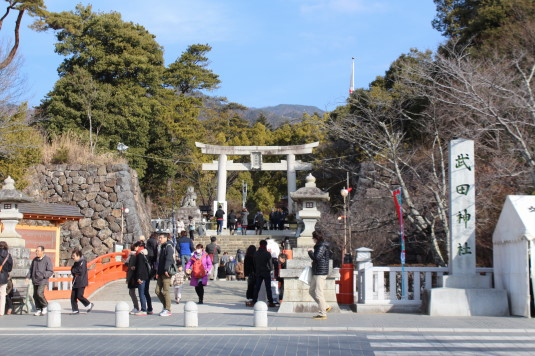 初詣 武田神社 外観