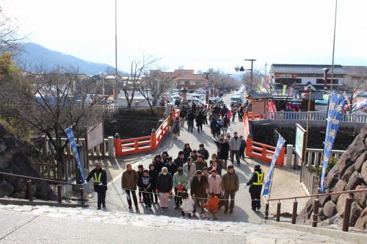 初詣 武田神社 規制