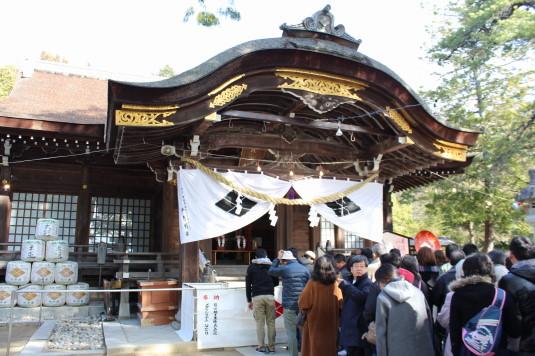 初詣 武田神社 本殿
