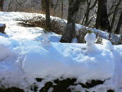 26雪だるま