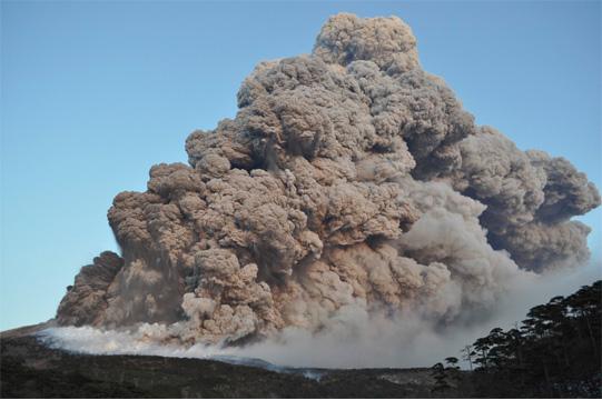 新燃岳噴火2