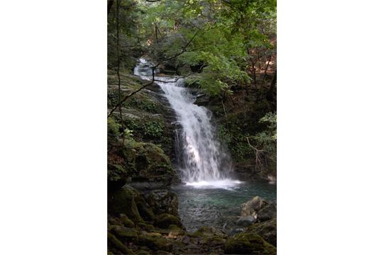 5合目御社の滝