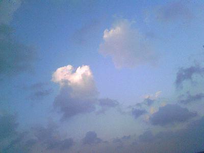 12月の青空