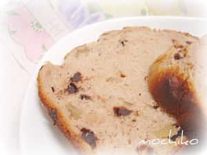 20110626クルミとチョコとアーモンドプードルのパン 早焼き