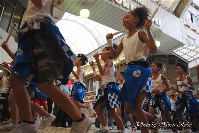 (今治市の祭り 2009) おんまく日吉 ダンスバリサイ 今治おんまく祭り2009 広小路・今治商店街 愛媛県今治市 2009年8月1日