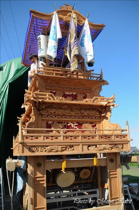 花園町だんじり(屋台・楽車) 伊曽乃神社祭礼 西条祭り2010 愛媛県西条市花園町 2010年10月10日