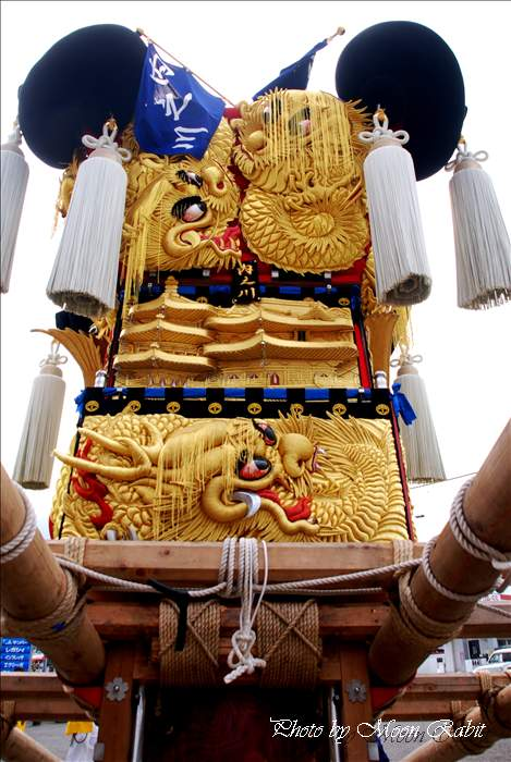 内之川太鼓台 上野太鼓祭り2010 JAうま土居中央支店 四国中央市土居町中村 2010年10月14日