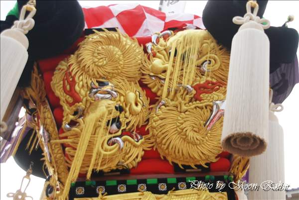 東町太鼓台の飾り幕 一宮の杜ミュージアム・一宮神社かきくらべ 新居浜鼓祭り2010 2010年10月17日