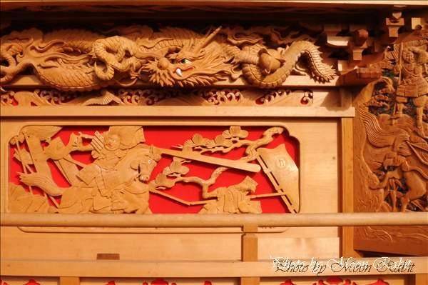 西条祭り2010 宮之下だんじり(宮の下屋台・楽車) 氷見石岡神社祭礼関係 2010年